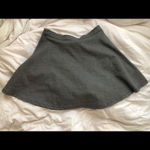 American Apparel Plaid Mini Skirt